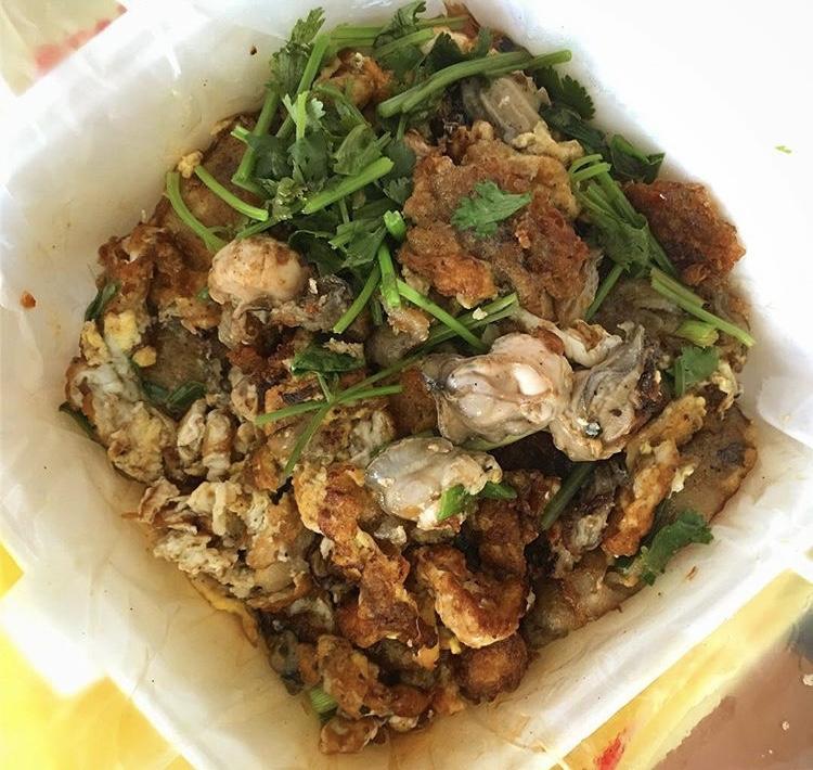 Oyster Omelette Ah Chuan