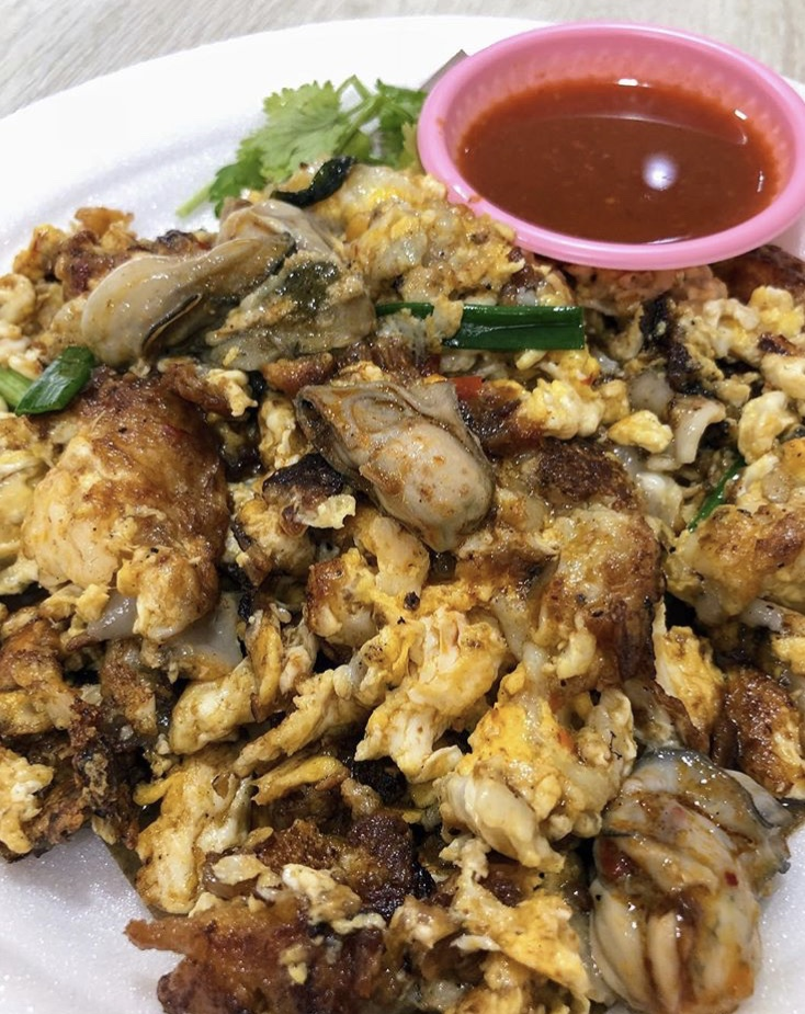Oyster Omelette Lim's Fried Oyster