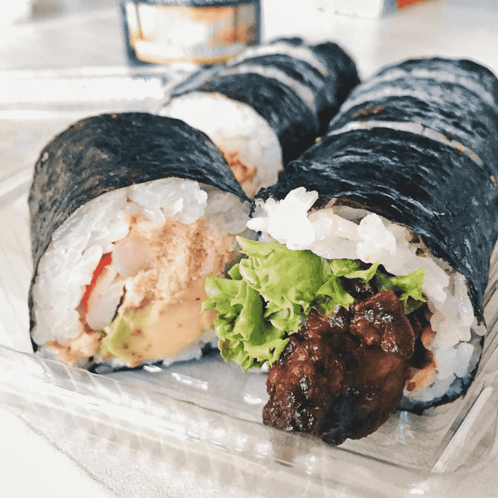 Raffles Place Food Places - Aussie Roll