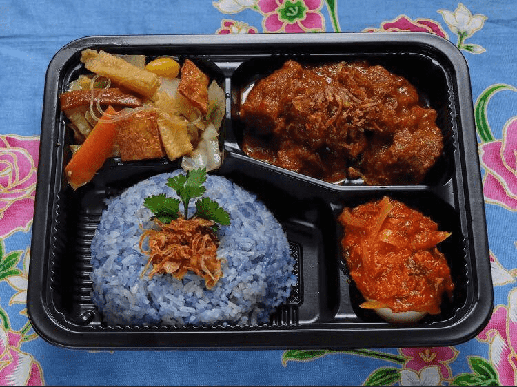 Raffles Place Food Places - Baba Bento