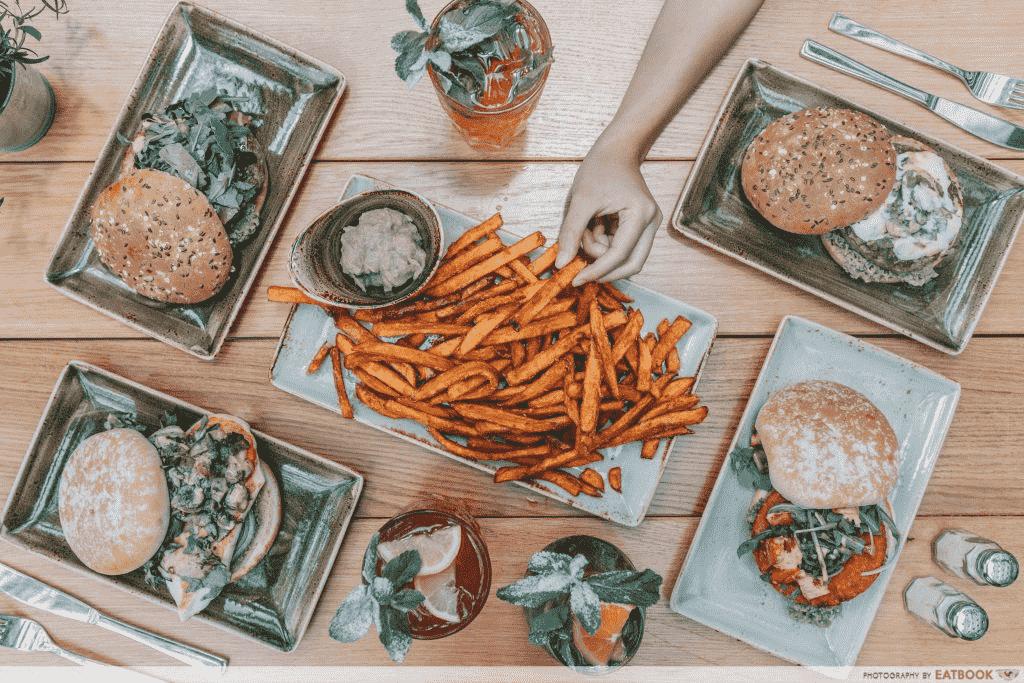 Raffles Place Food Places - Hans Im Glück