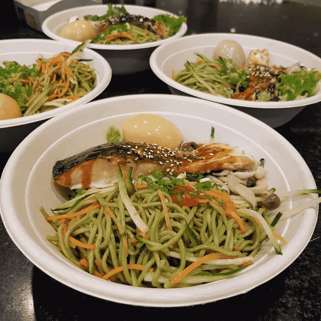 Raffles Place Food Places - WHEAT Baumkuchen