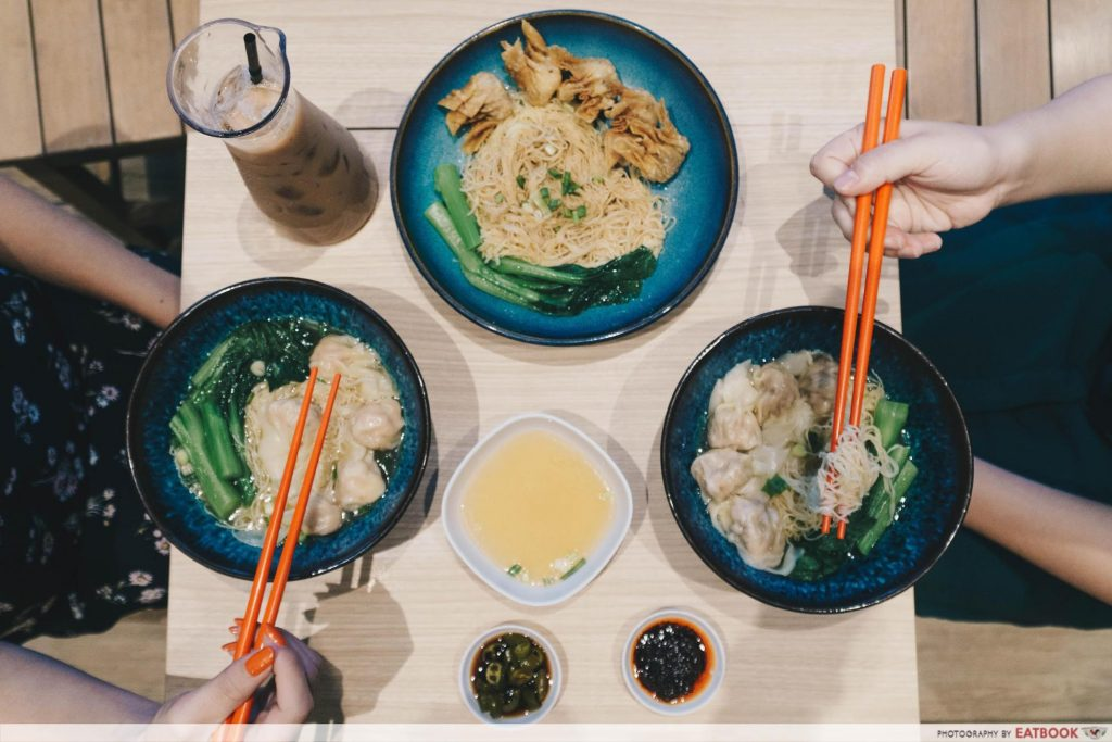 Sheng Kee Dessert flat lay