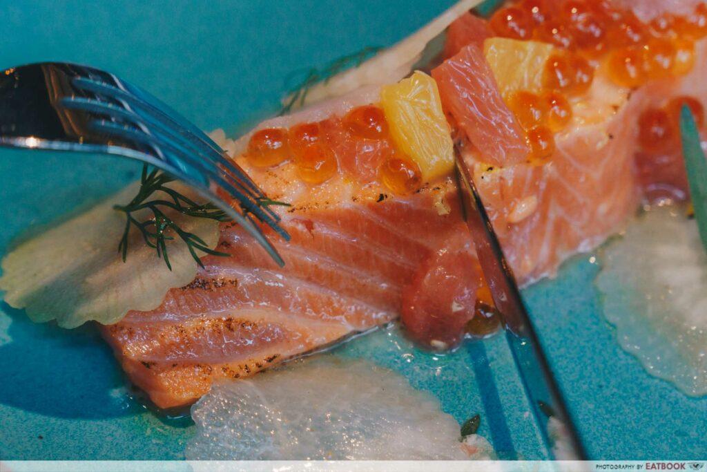 The Spot - Atlantic Salmon Close up