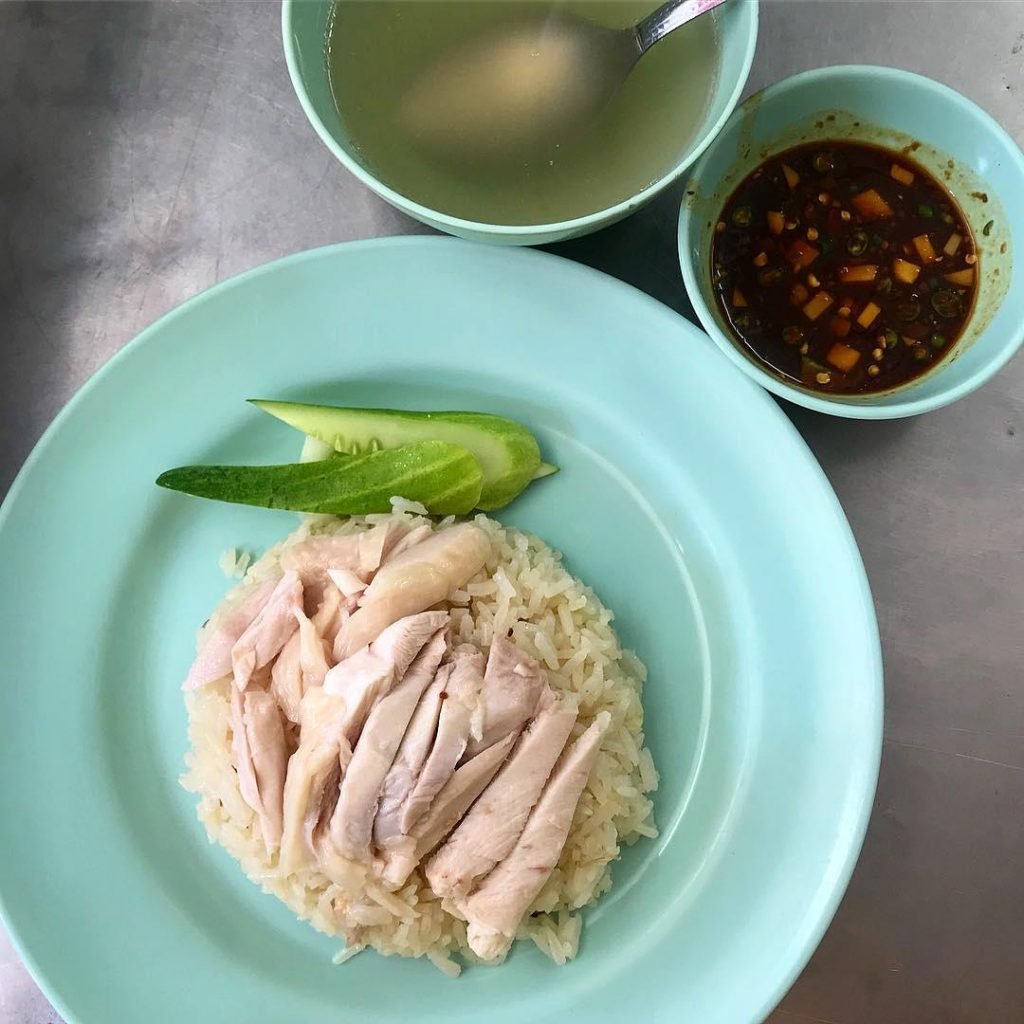 bangkok chicken rice - chicken rice