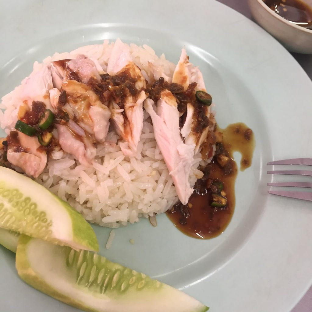 bangkok chicken rice - sauce