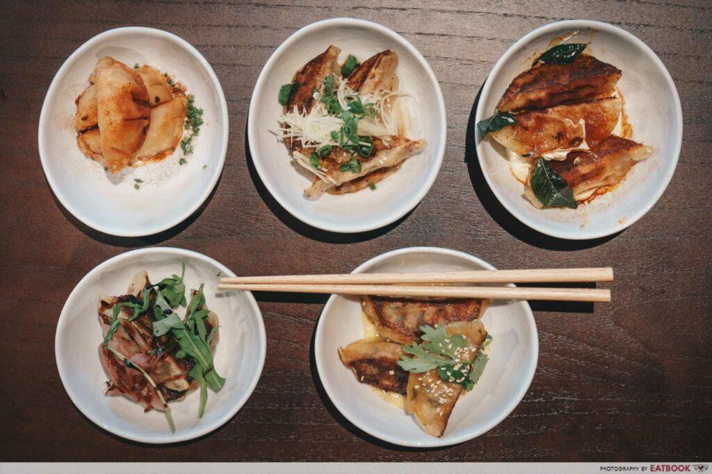 dumpling darlings dumpling platter