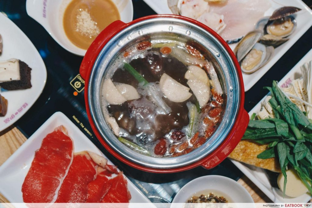 halal steamboat buffet mini pot