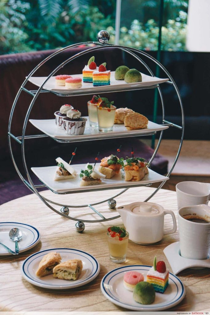 hotels with high tea Waterfall Lounge-min
