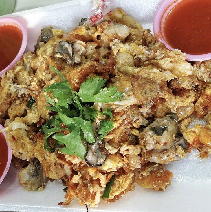 Oyster Omelette Ang Sa Lee