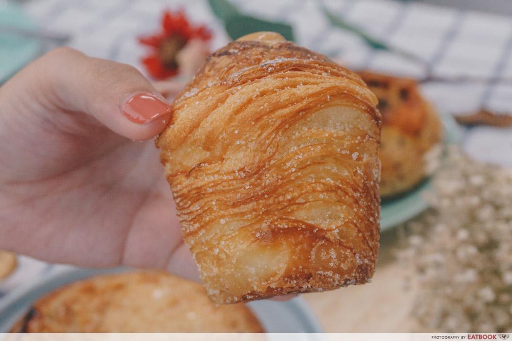Bakery Brera - Peanut Butter Cruffin Sugar