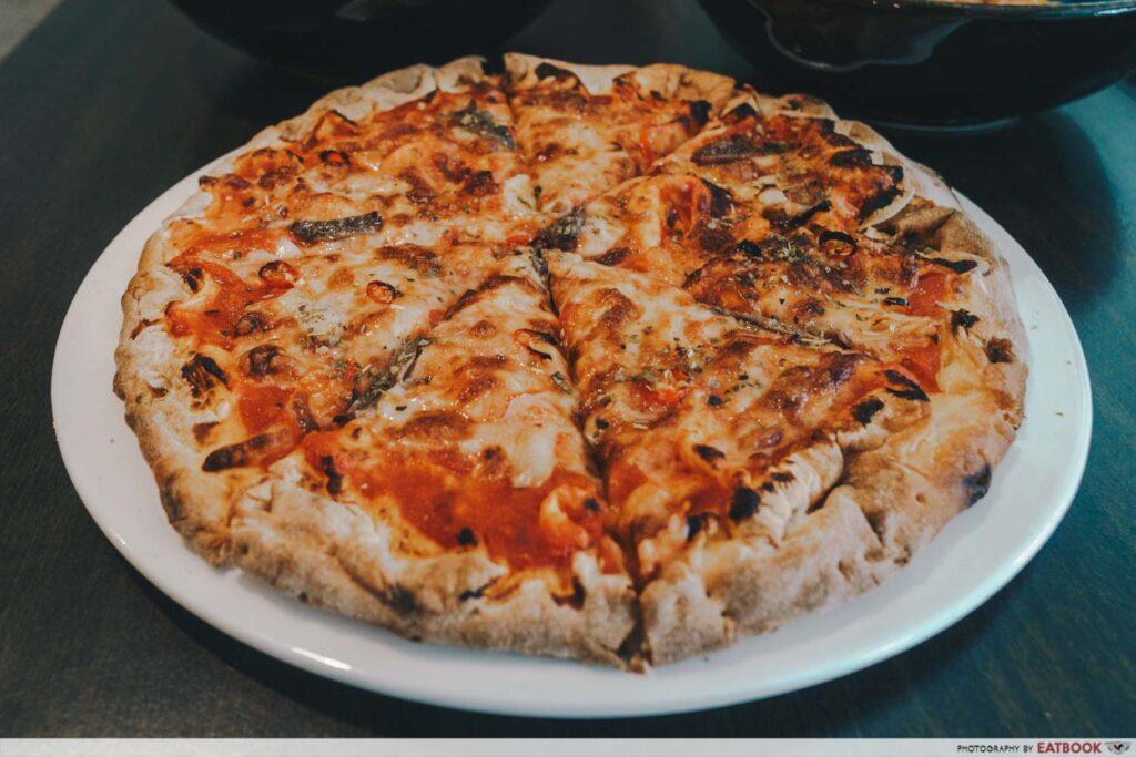 Casa Manini Pizza Puttanesca