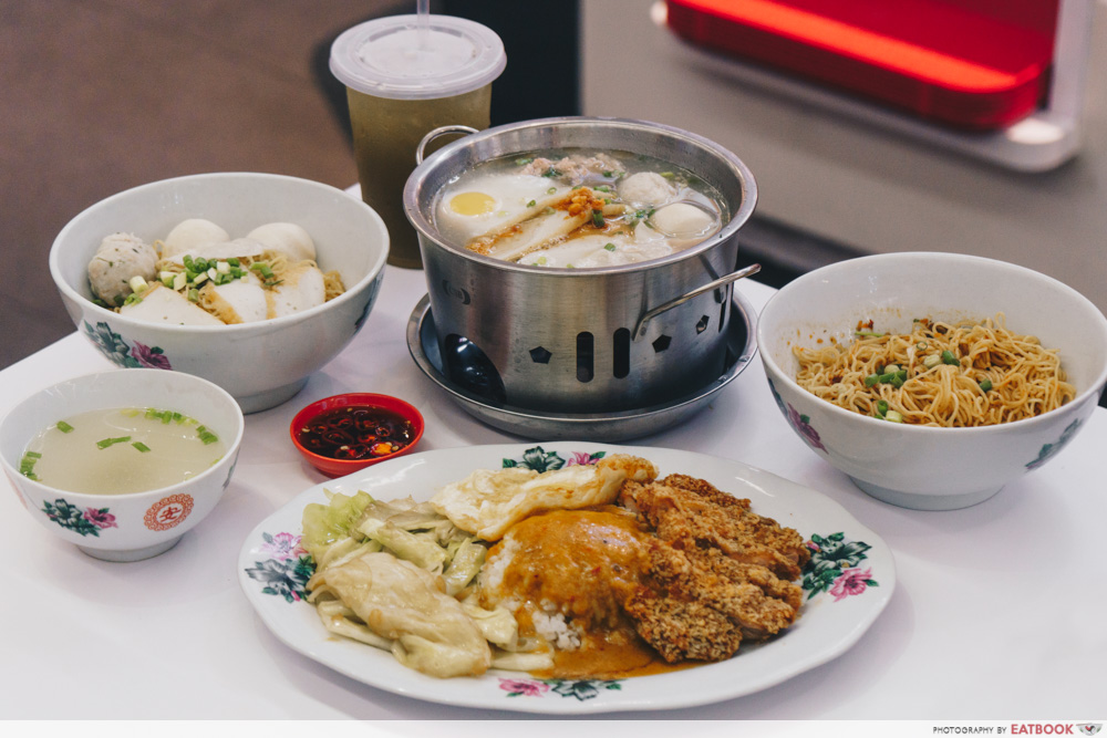 Famous Local Food Stores - 85 Redhill Teochew Fishball Noodles