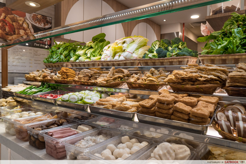 Famous Local Food Stores - Fu Lin Fried Yong Tofu