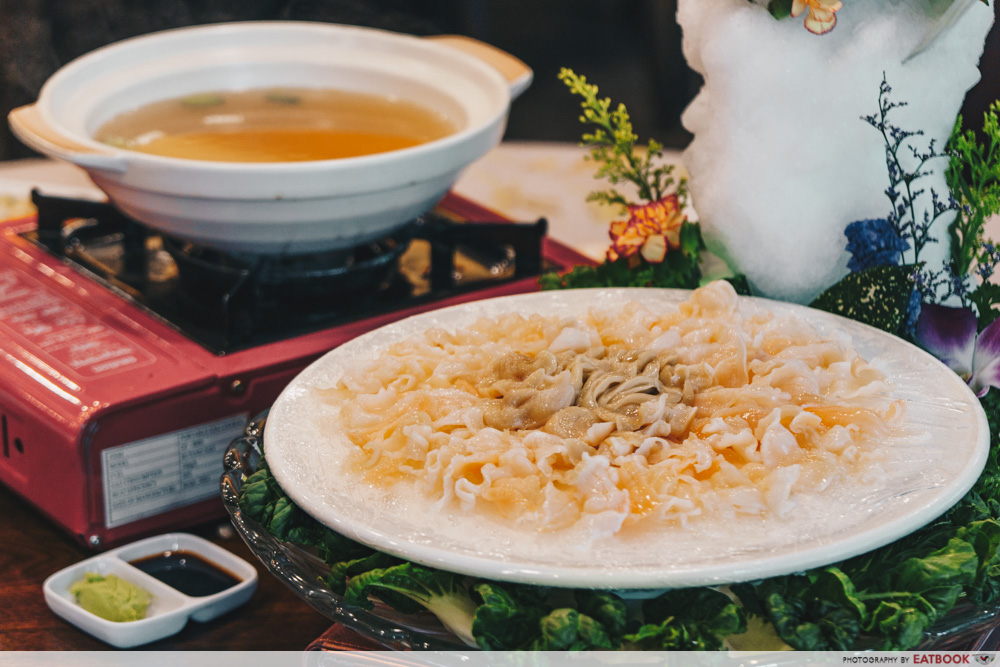 Famous Local Food Stores - Geoduck Sashimi
