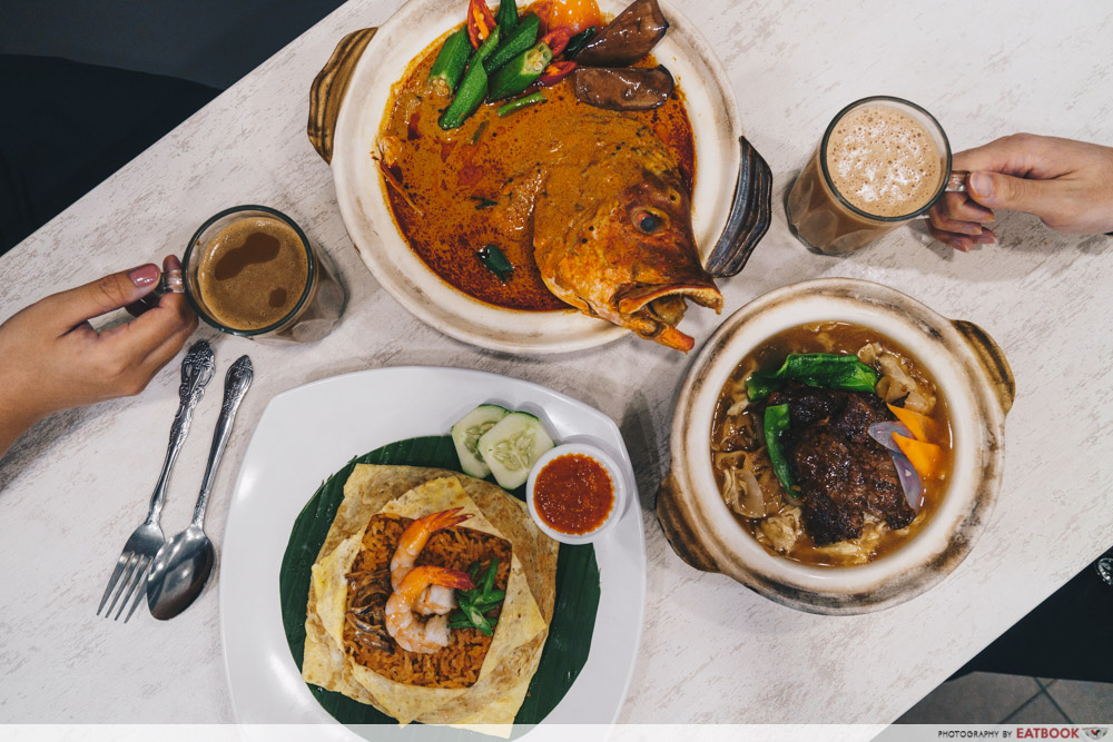 Famous Local Food Stores - Red Ginger Flatlay