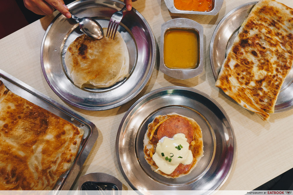 Famous Local Food Stores - Springleaf Prata Place Flatlay