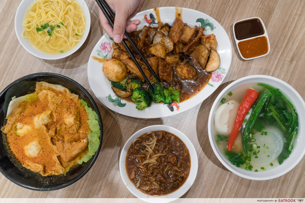 Famous Local Food Stores - Yong Tau Foo Flatlay
