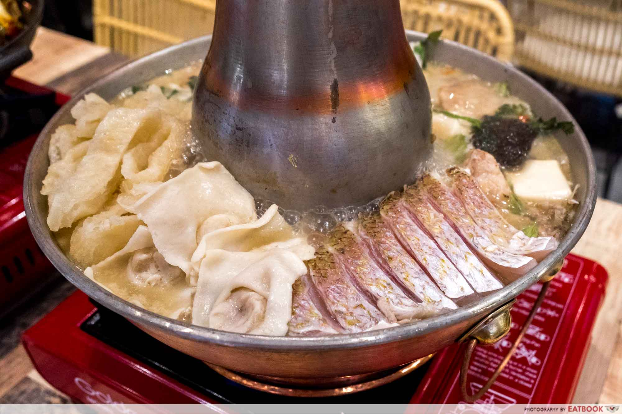 Fatbird - Fish Head Steamboat With Extra Ingredients