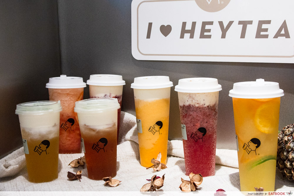 HEYTEA - Bubble Tea
