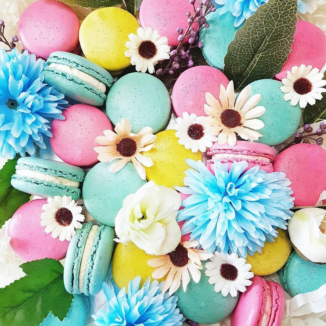 Halal Instagram Bakers - Macarons by SG Birthdaycakes