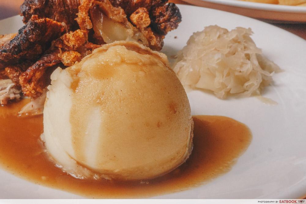 Knuckles Bistro - Mashed Potato