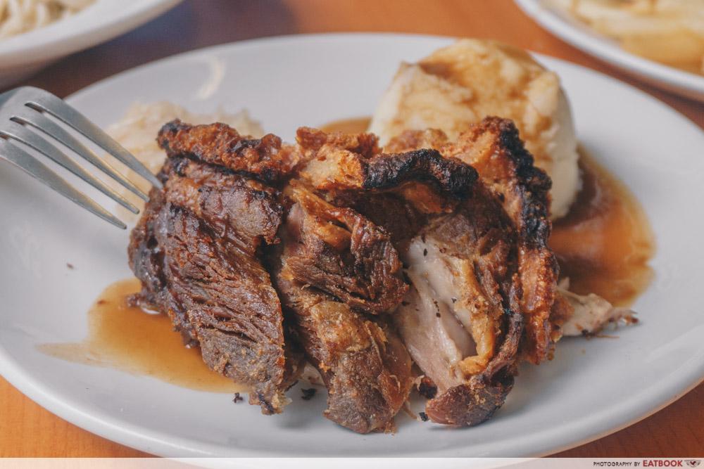 Knuckles Bistro - Pork Knuckle Focus