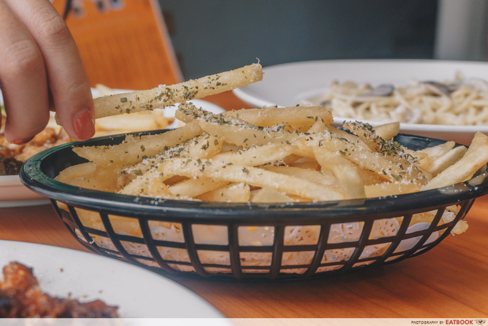Knuckles Bistro - Truffle Fries