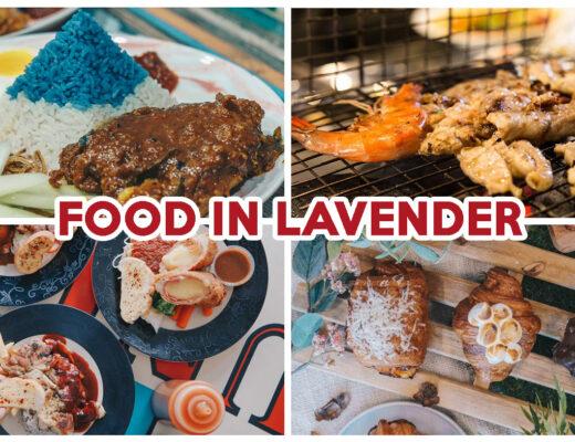 LAVENDER FOOD COVER