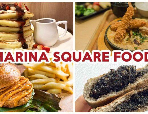 Marina square food