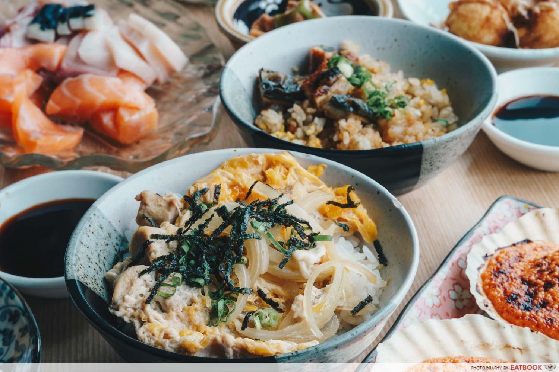 Mitsuba - Rice Bowls