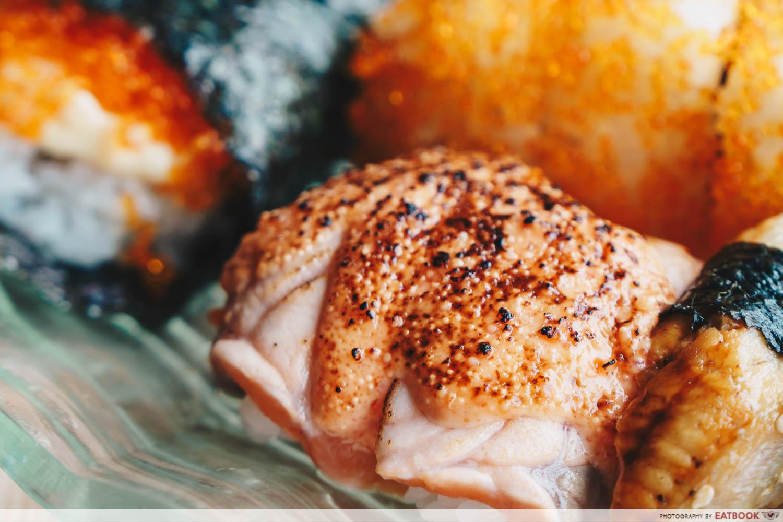 Mitsuba - Salmon Mentaiko Sushi