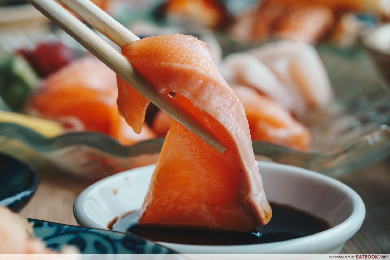 Mitsuba - Salmon Sashimi