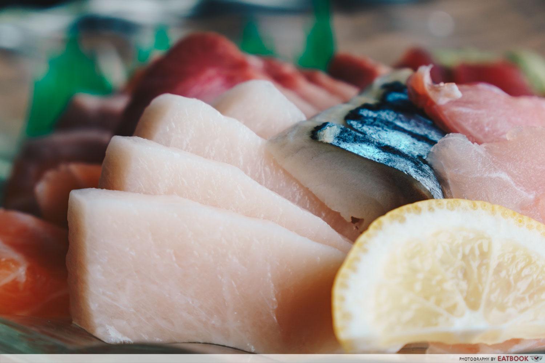 Mitsuba - Swordfish Sashimi