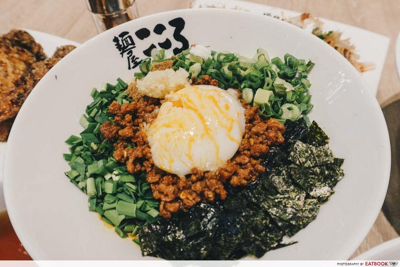 New Restaurants November Menya Kokuro