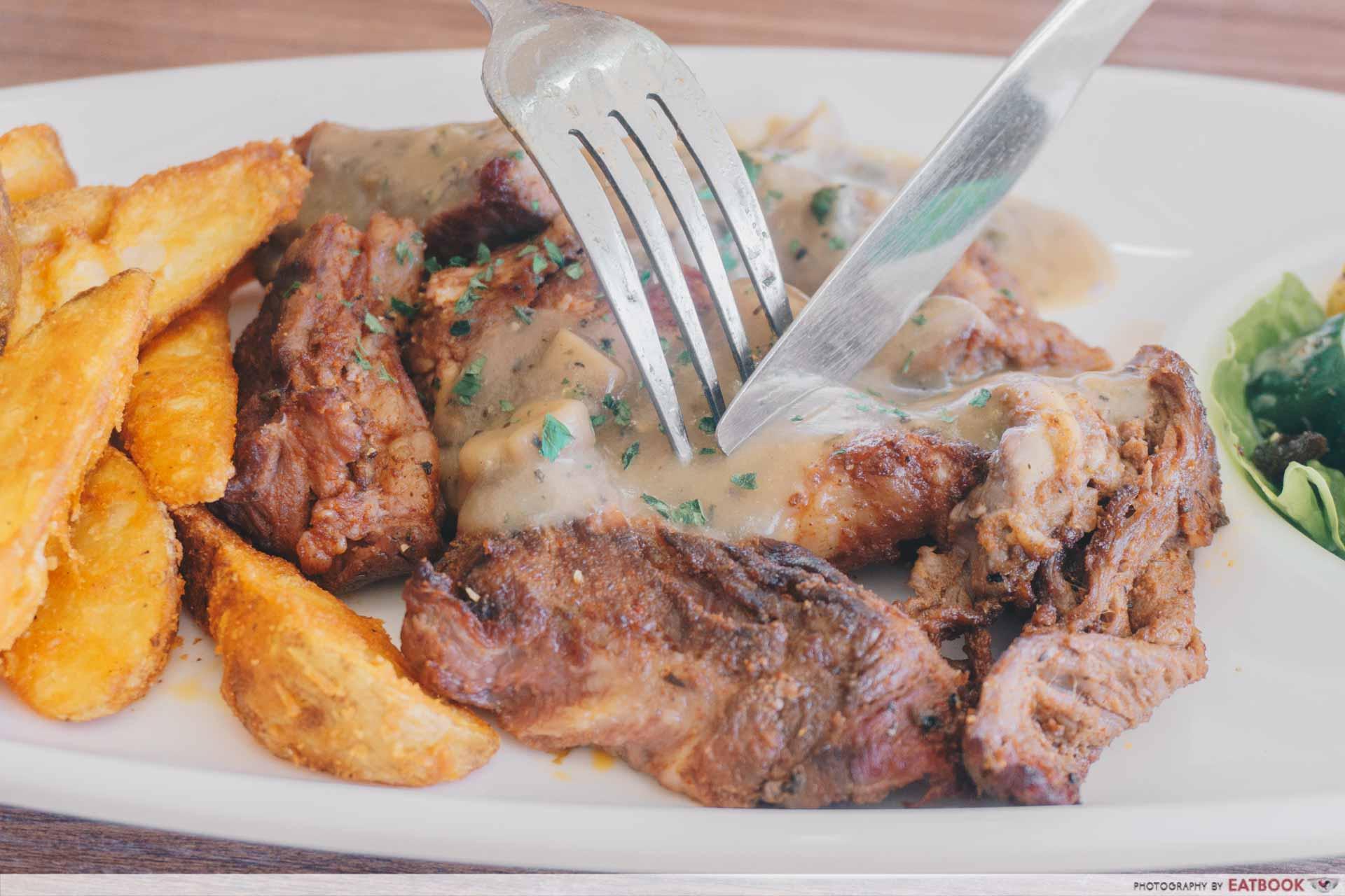 Tan's Pasta Shop Beef Steak 3