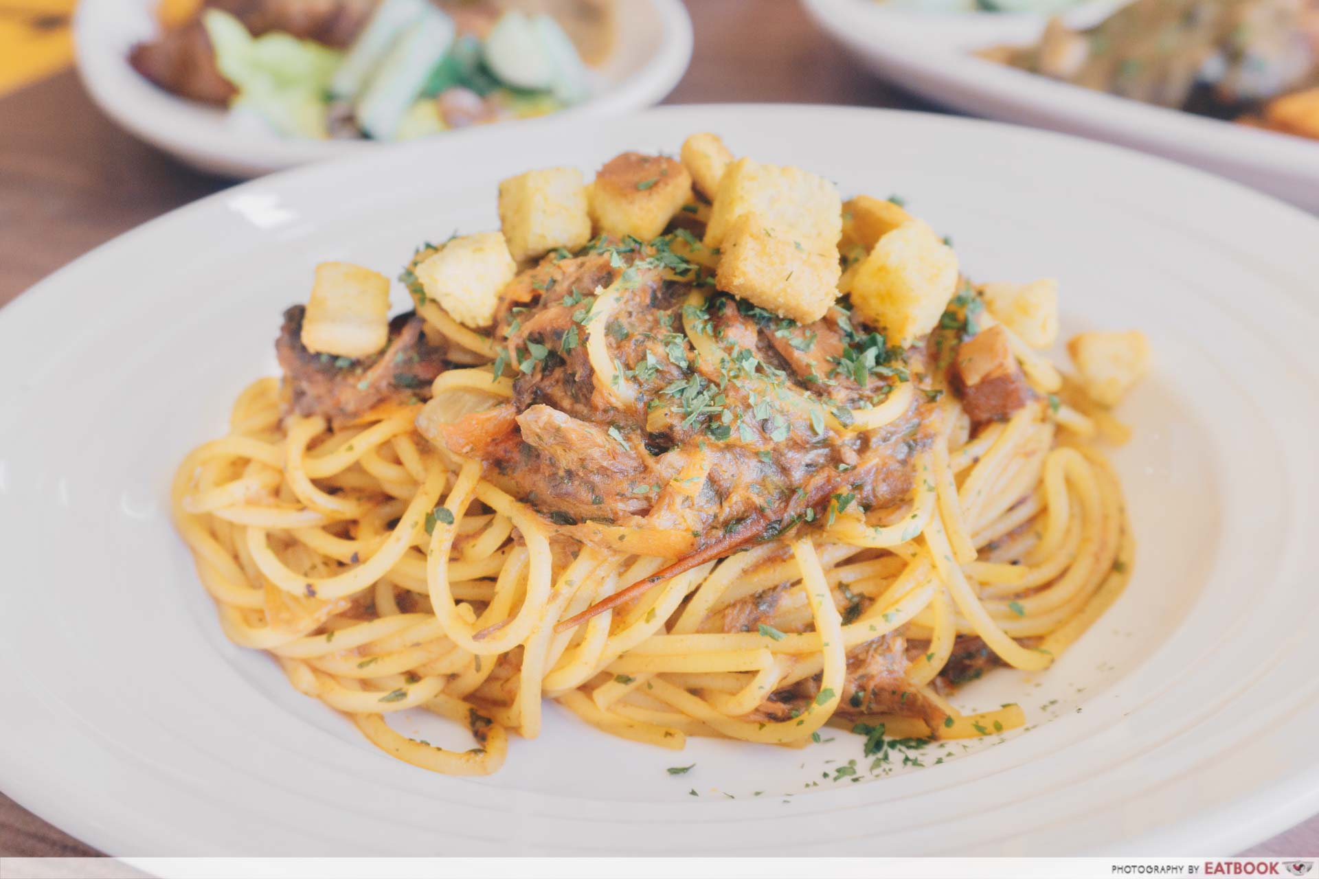 Tan's Pasta Shop Four-Cheese Carbonara