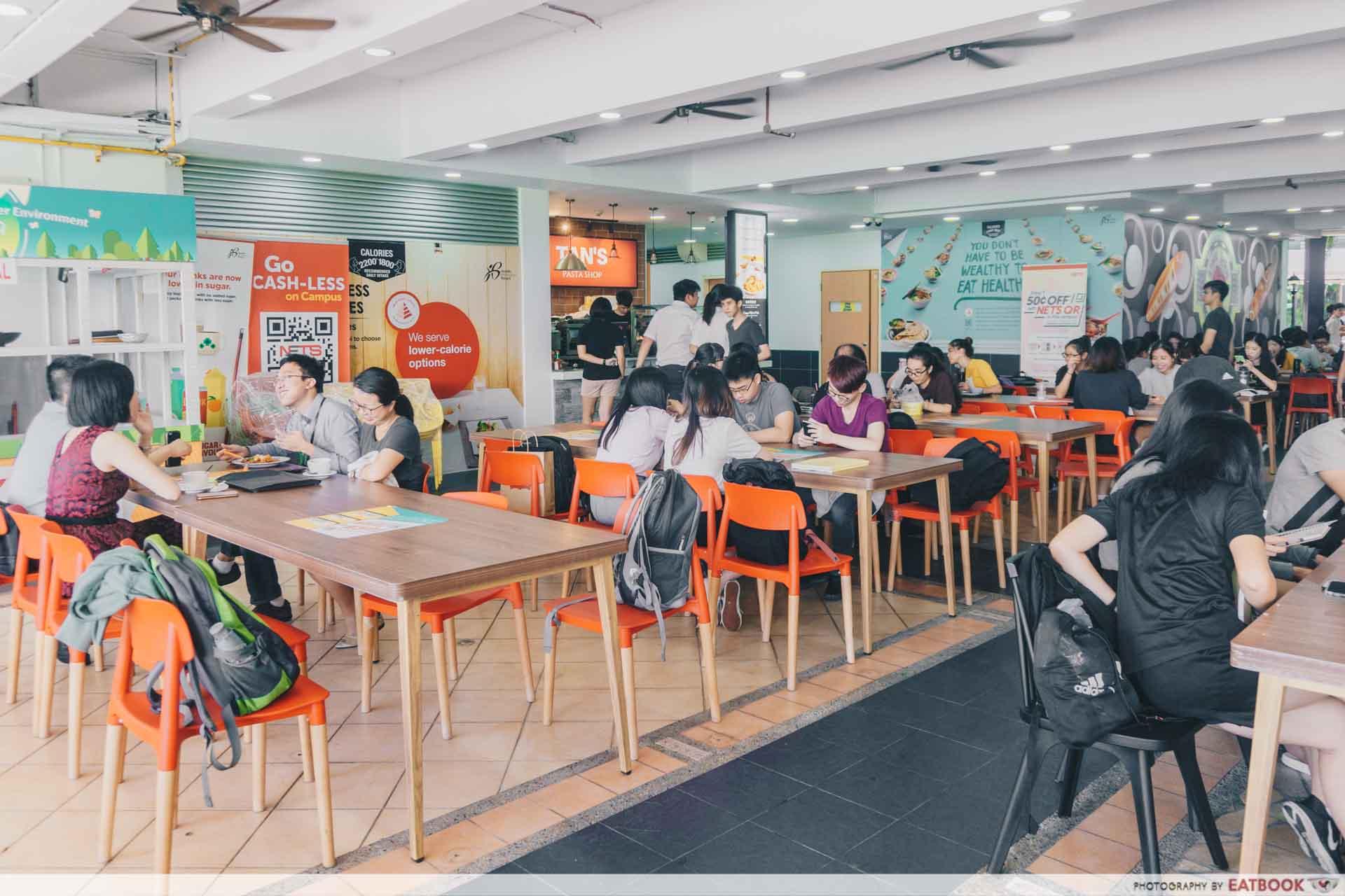 Tan's Pasta Shop Seats