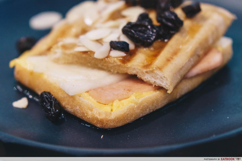 Walking On Sunshine - Honey Ham Cheese Panini