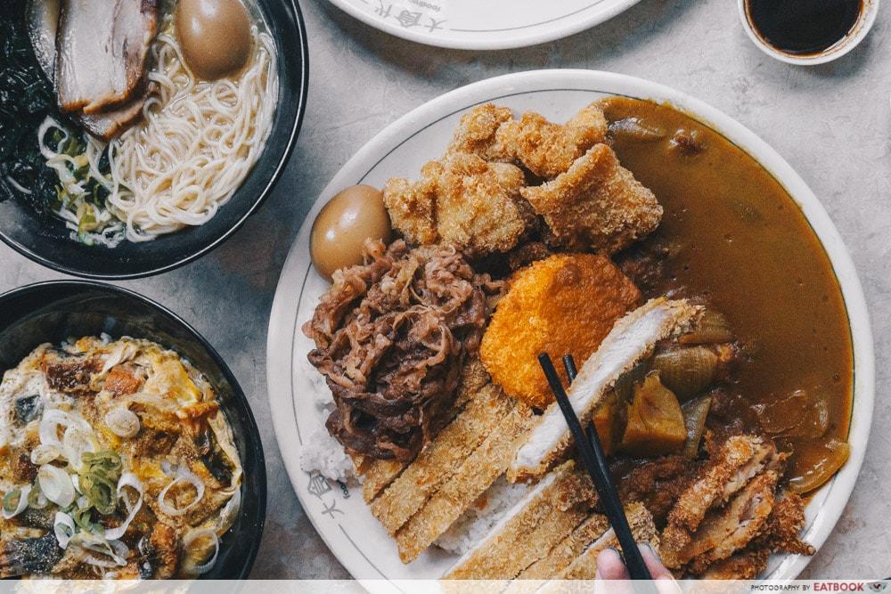 Washoku Goen - Food Spread