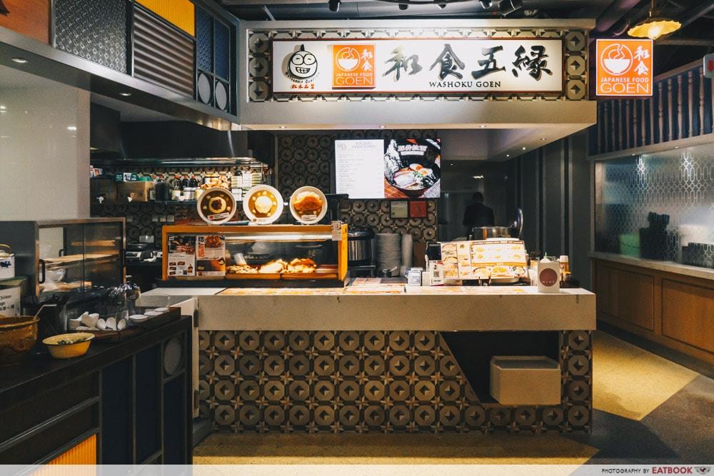 Washoku Goen - Storefront