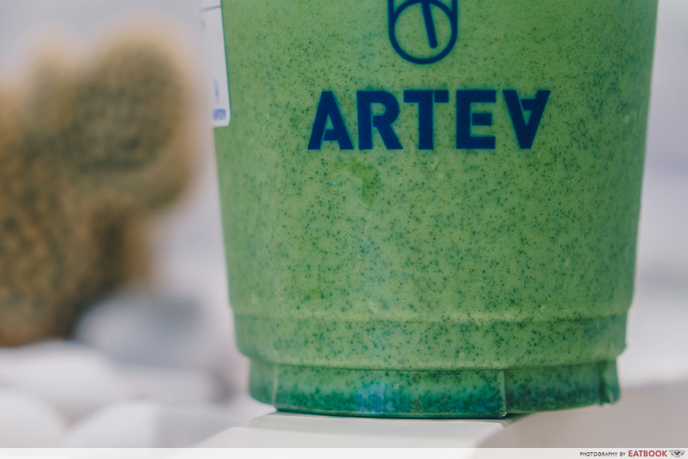 ARTEA - Kyoto Matcha Latte Close Up