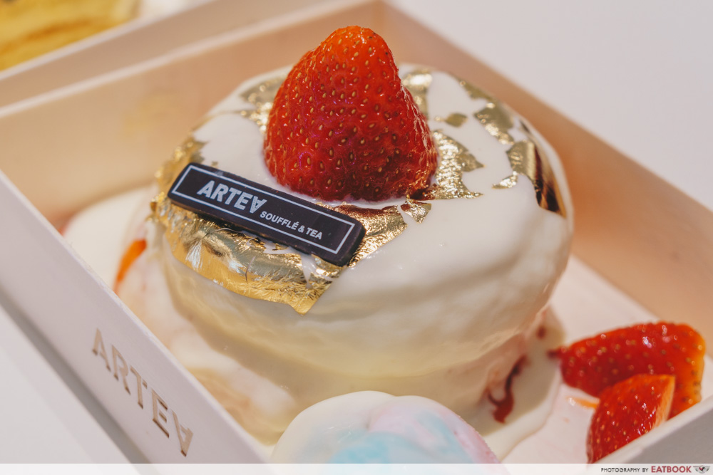 ARTEA - Strawberry Souffle Close Up