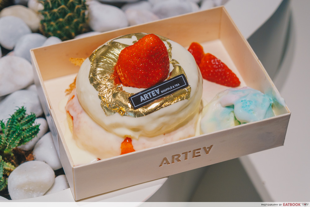 ARTEA - Strawberry Souffle