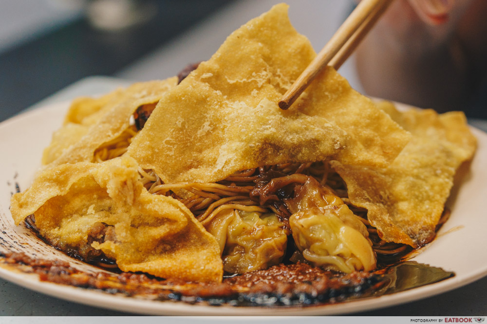 Bei-ing Wanton Mee - Fried Wantons