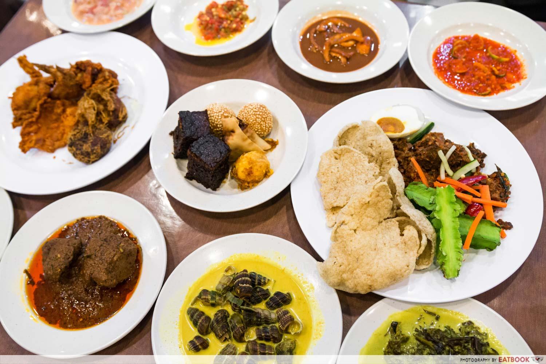 Best Buffets - Aroma Kampung Nasi Pandang Buffet