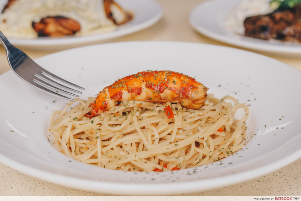 Chopping Board - Lobster Tube Pasta