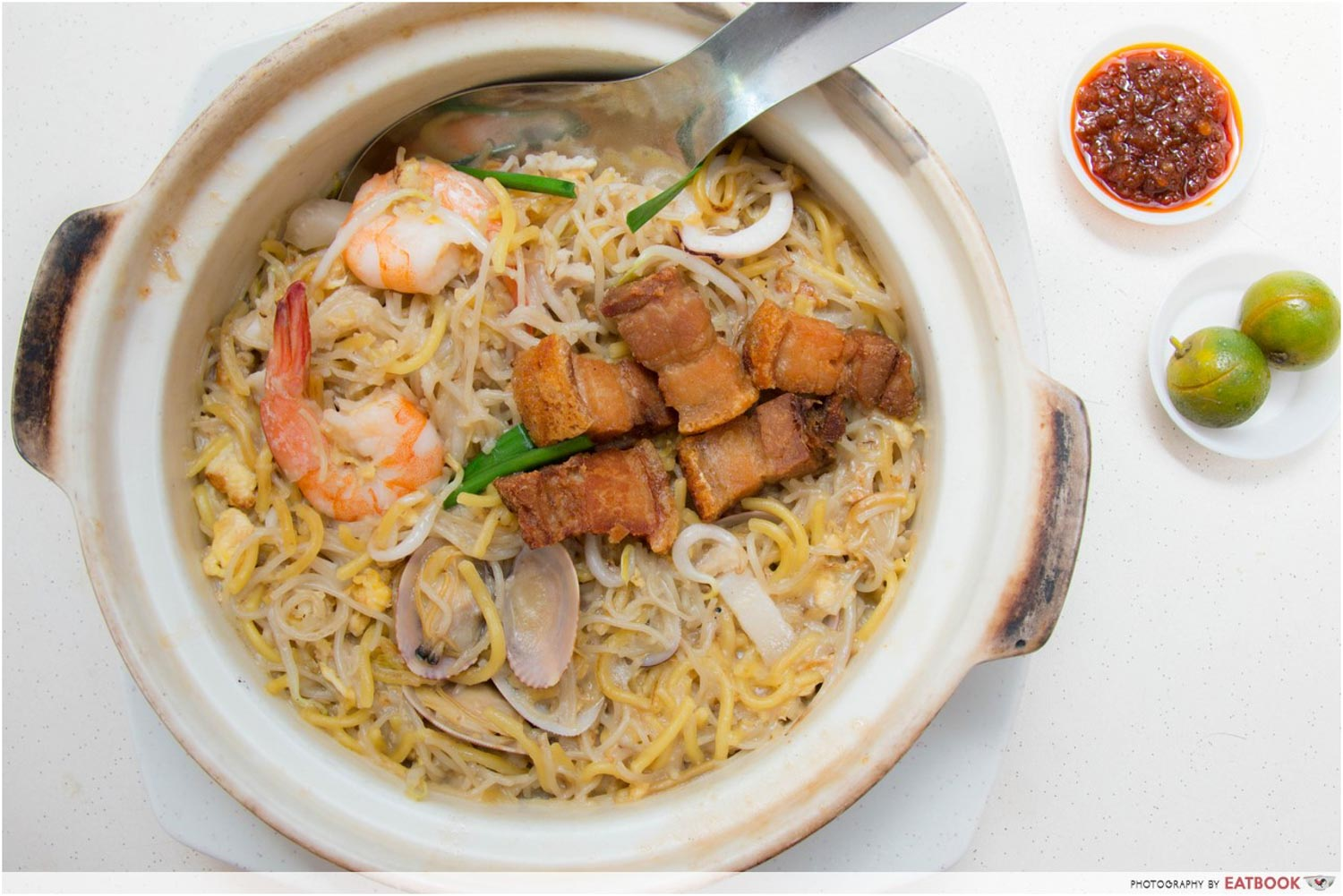 Claypot Dishes - Claypot Hokkien Mee