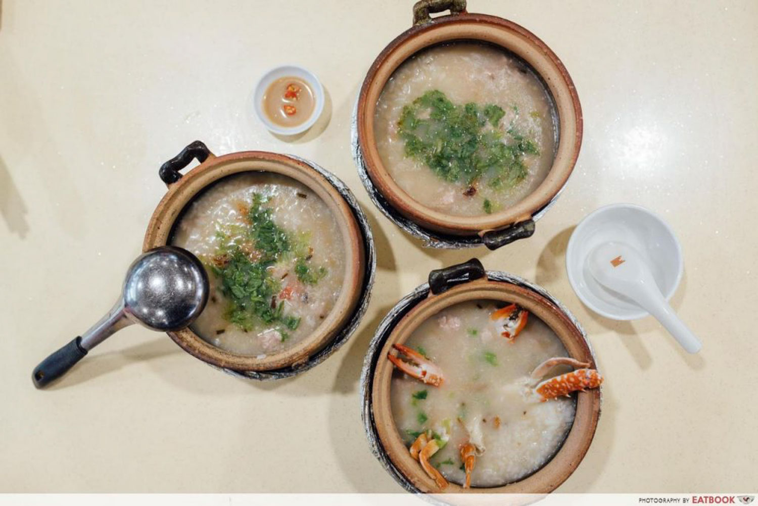 Claypot Dishes - Special Pork and Prawn Porridge