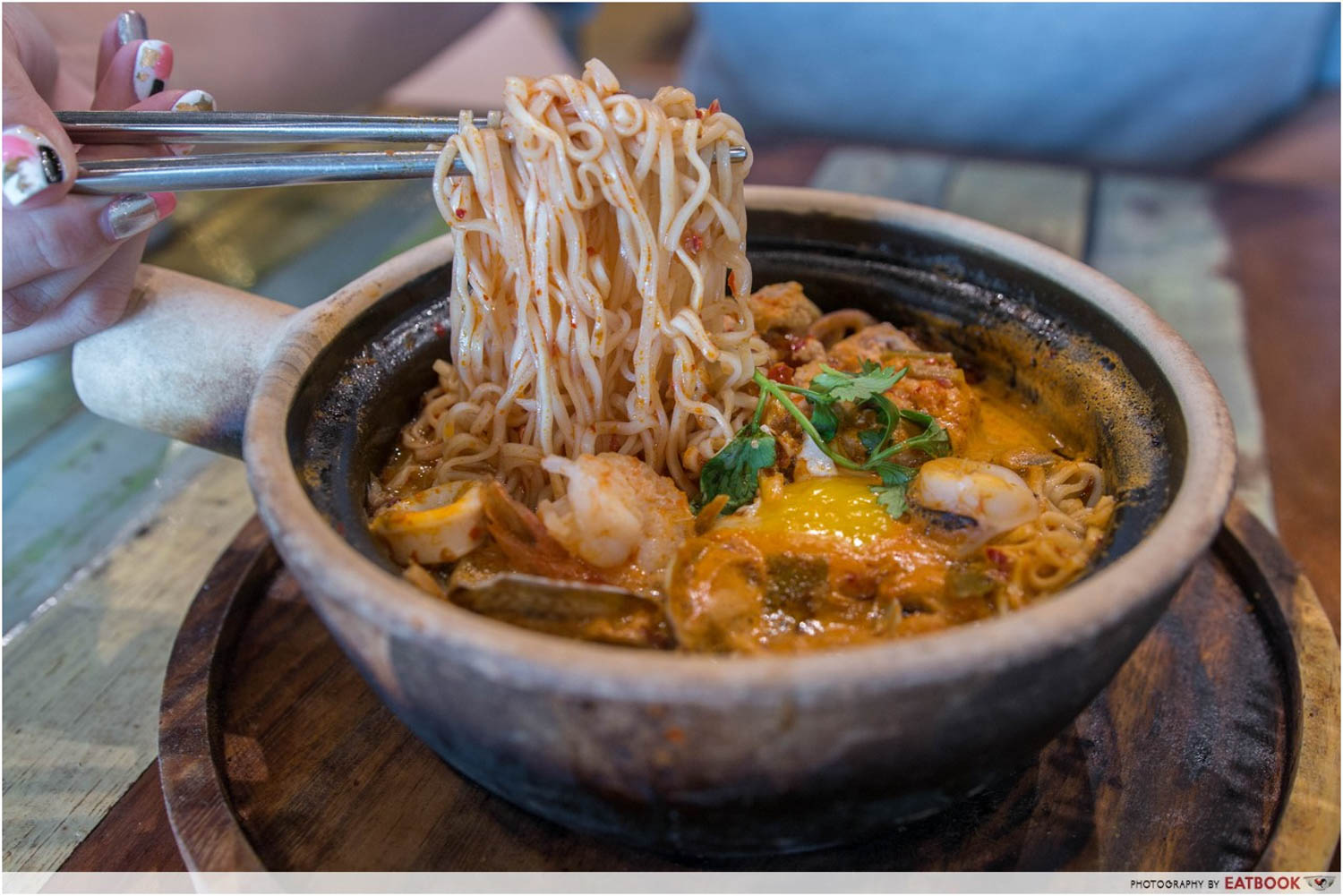 Claypot Dishes - Tom Yum Claypot